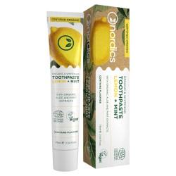 Bio Zahnweiß Zahnpasta aus Zitrone und Minze, 75 ml