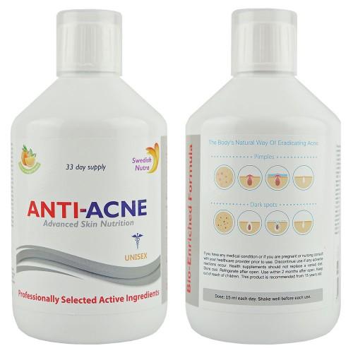 Anti Akne Flüssigkeitskomplex gegen Akne, 500 ml