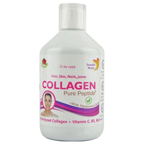 Rinder Kollagen Hydrolysat Peptide flüssig, 5.000 mg/Dosis - 500 ml
