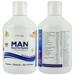 Flüssiges Multivitamin für Männer, 500 ml