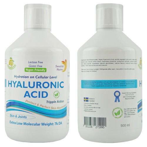 Hyaluronsäure, superkonzentrierte Flüssigkeit, 500 ml