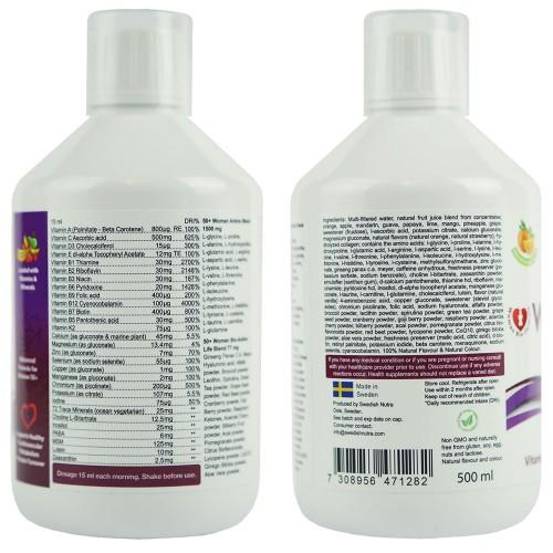 Multivitamin für Frauen über 50, 500 ml
